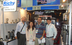 [Trade Event]Richy attended 113th Canton Fair